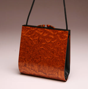 """Trillium"" Medium Handbag-Single Strap - Pommele Obechi"