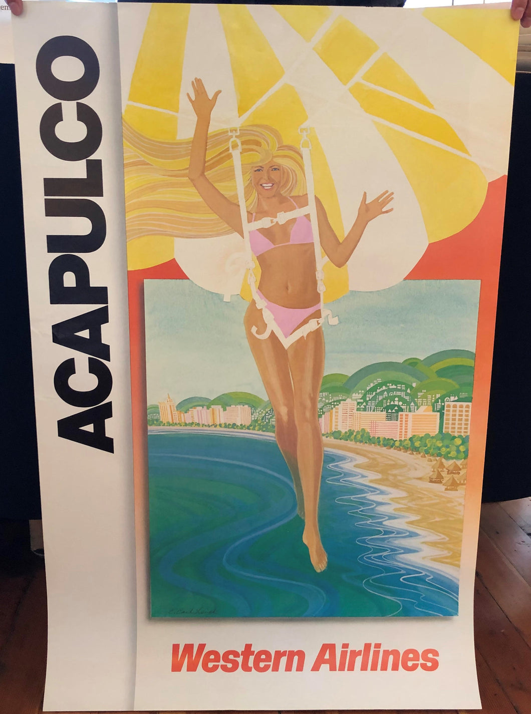 Acapulco - Western Airlines