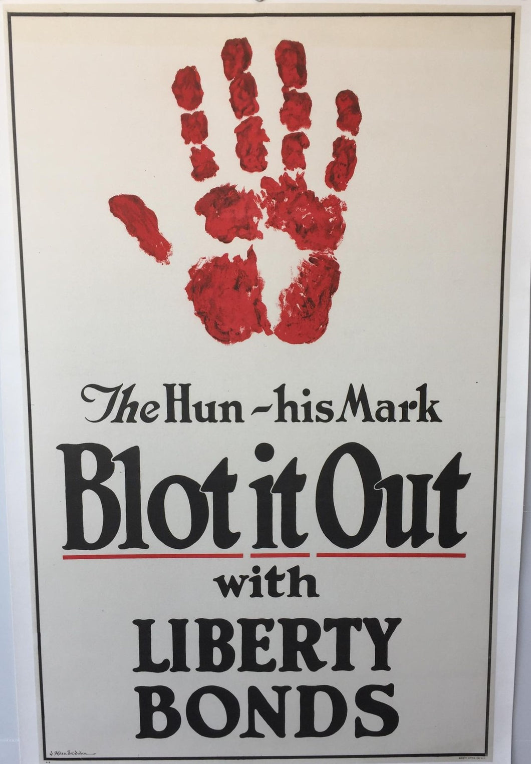 Blot It Out With Liberty Bonds