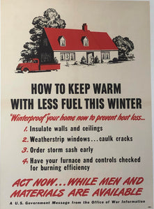How to Keep Warm With Less Fuel This Winter