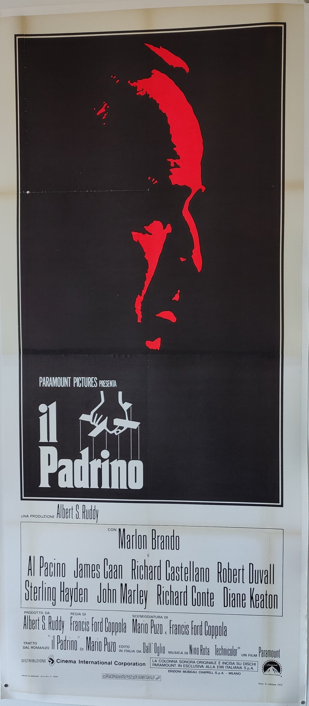 The Godfather (Italian, 2-sheet)
