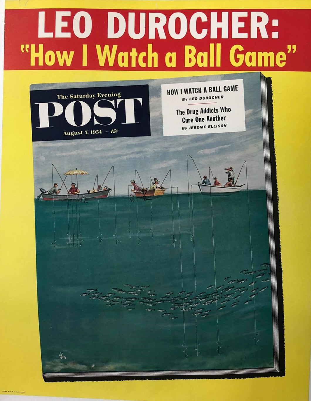 Saturday Evening Post (08/07/1954)