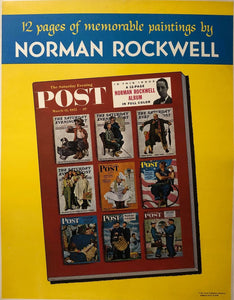 Saturday Evening Post - 12 Rockwell Paintings (03/12/1955)
