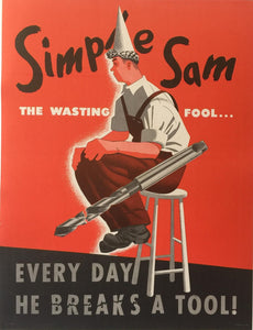 Simple Sam - The Wasting Fool...