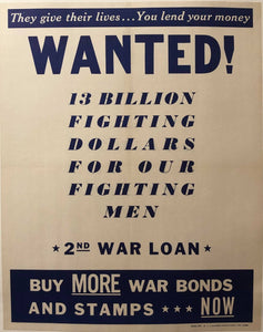 Wanted! - 2nd War Loan
