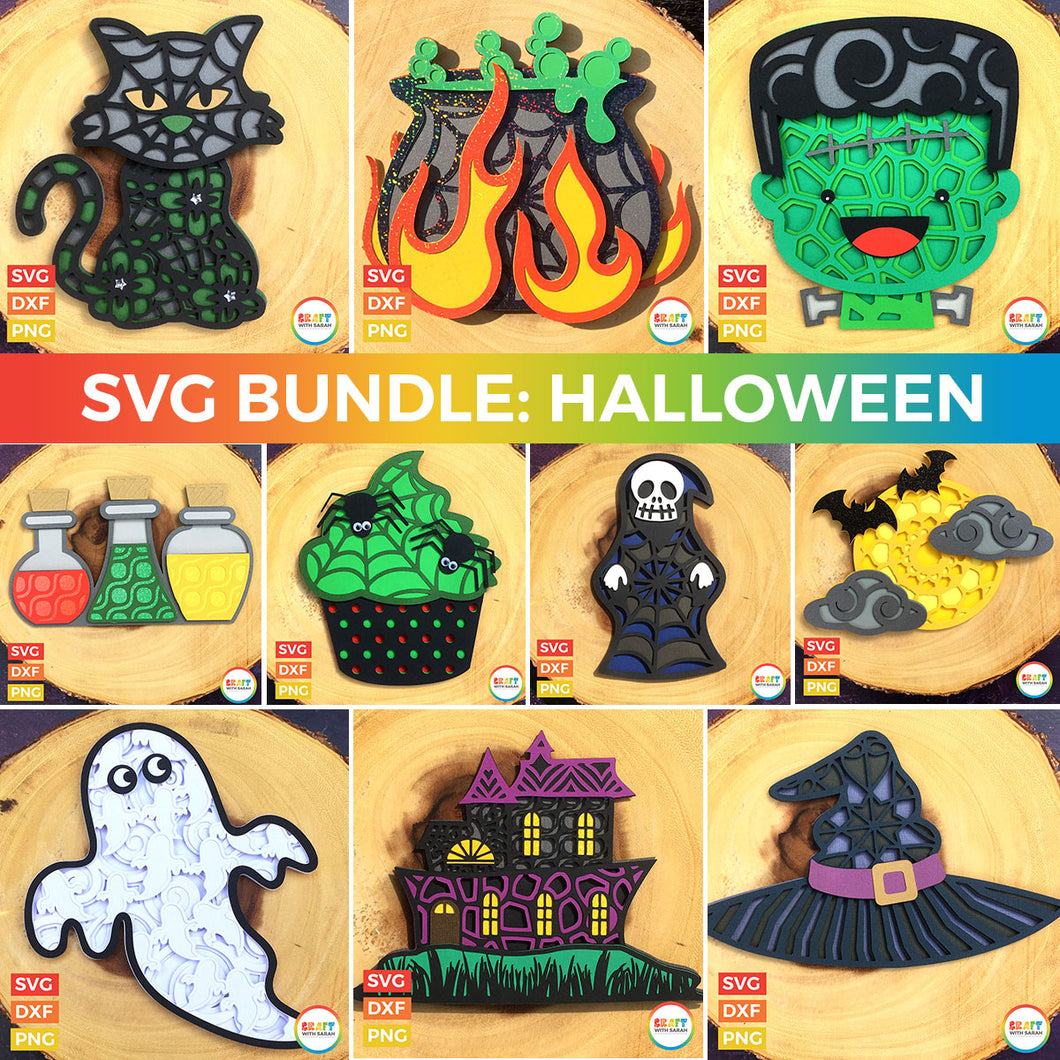 SVG BUNDLE: Halloween Collection