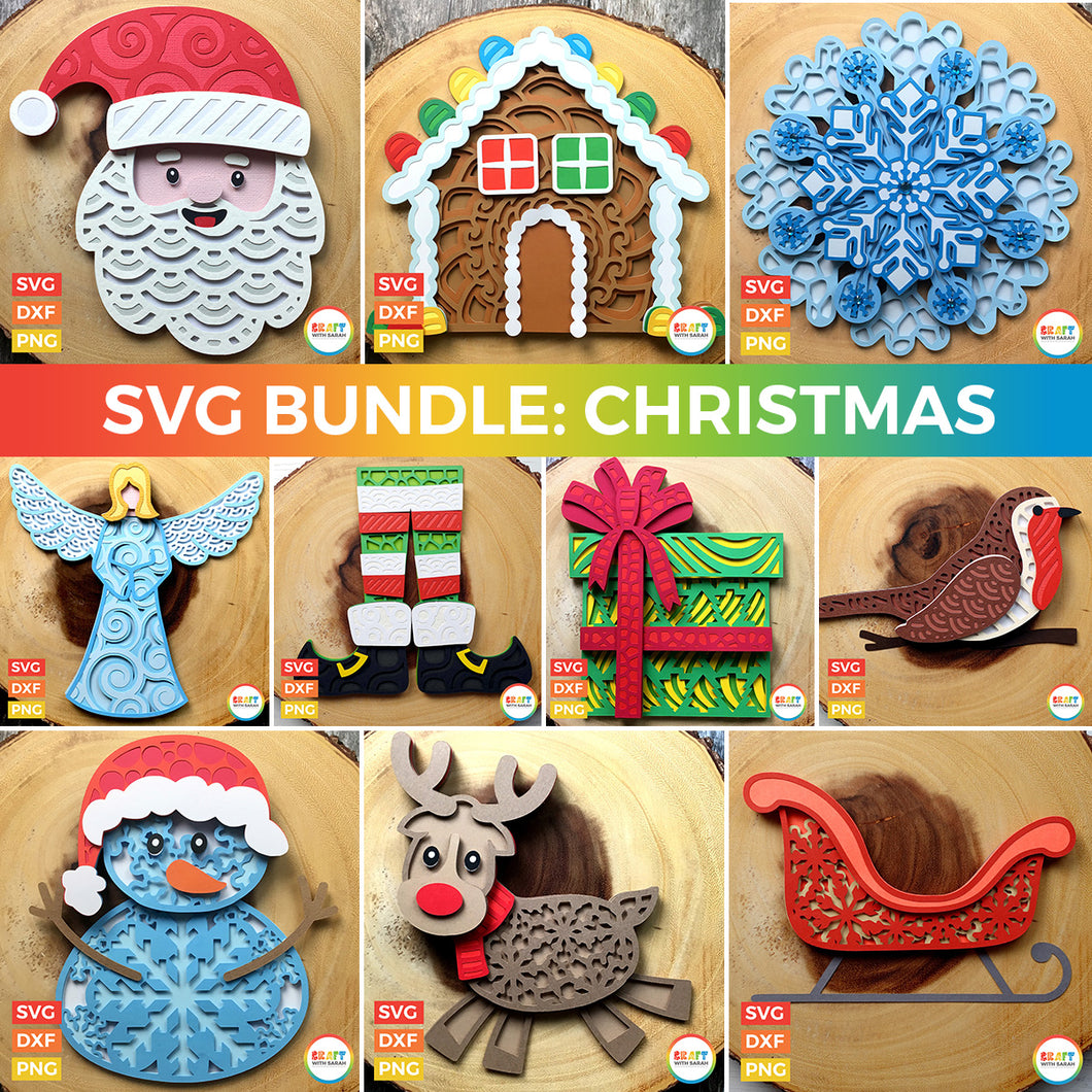SVG BUNDLE: Christmas Designs