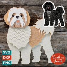 Load image into Gallery viewer, Shih Tzu SVG | Lhasa Apso SVG | Maltese SVG