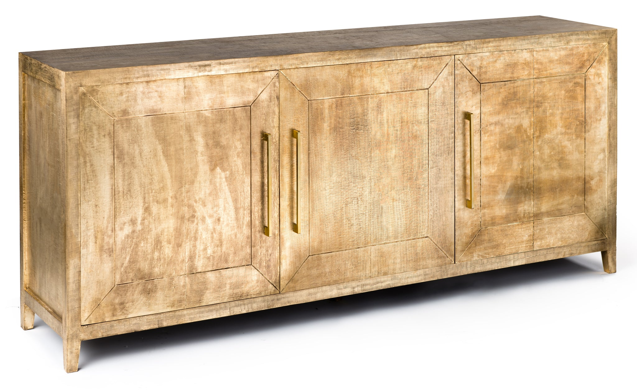 Embossed Brass Sideboard