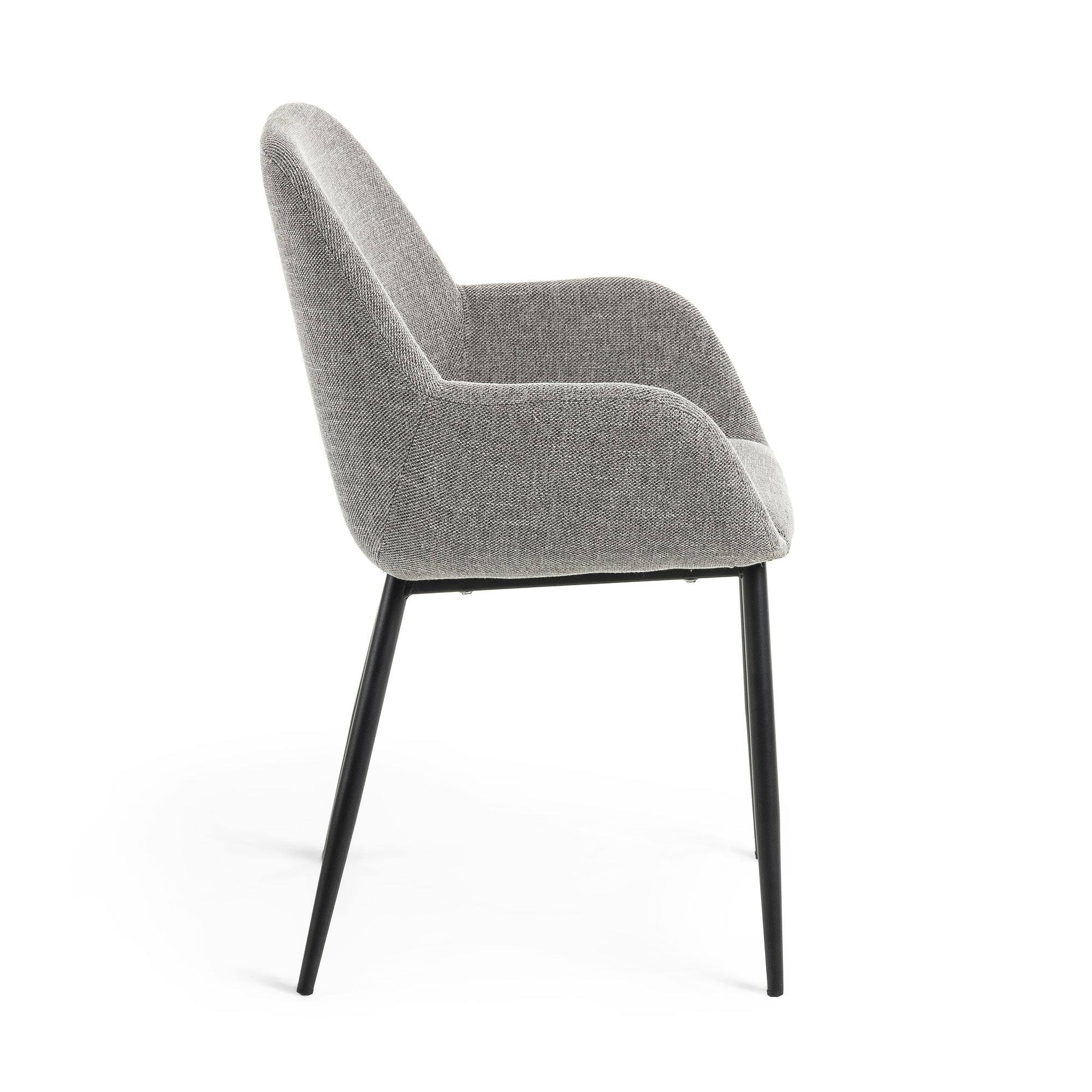 Konna Dining Chair - Light Grey