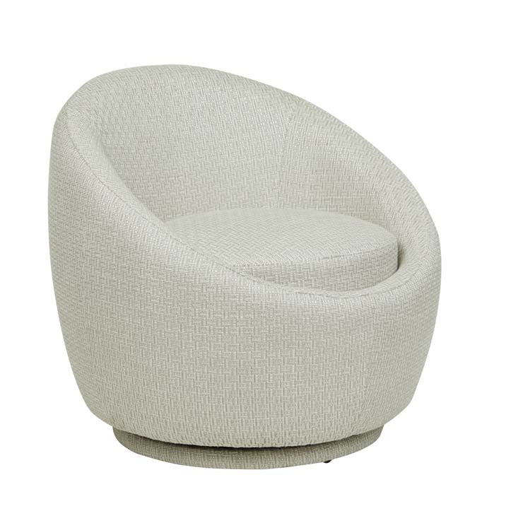 Kennedy Occasional Chair, Natural Textured Weave