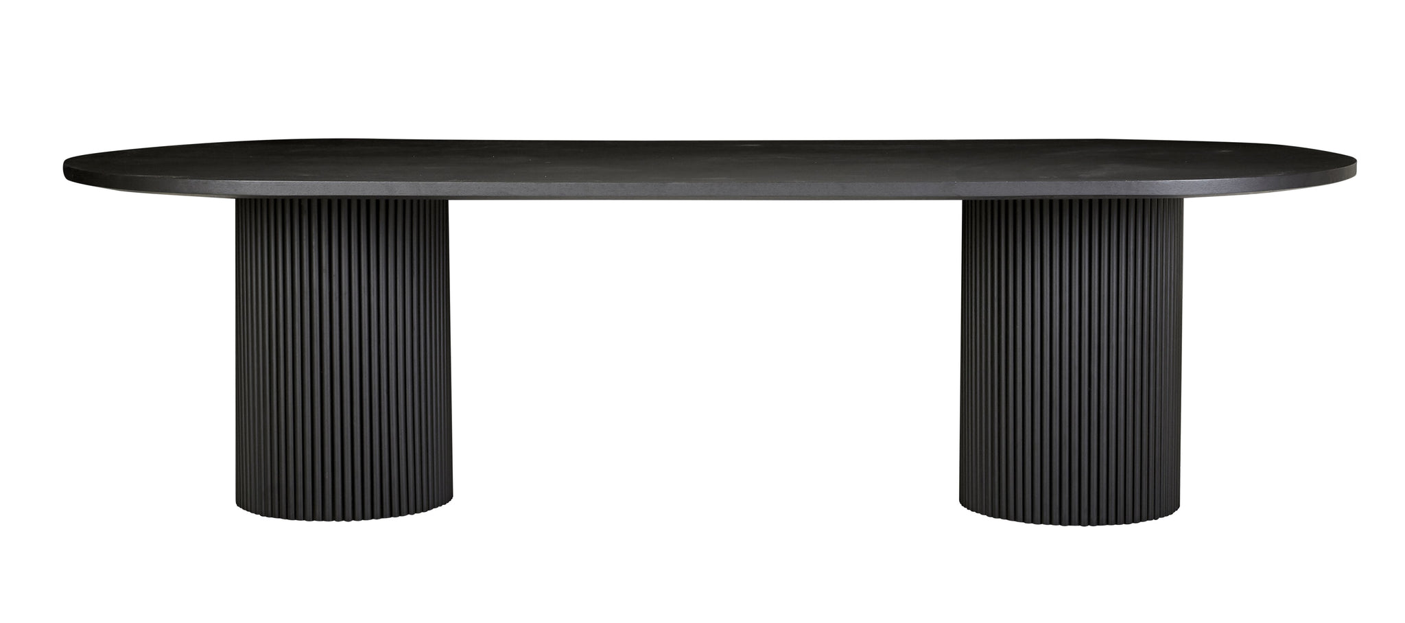 Benjamin Dining Table Matt Black