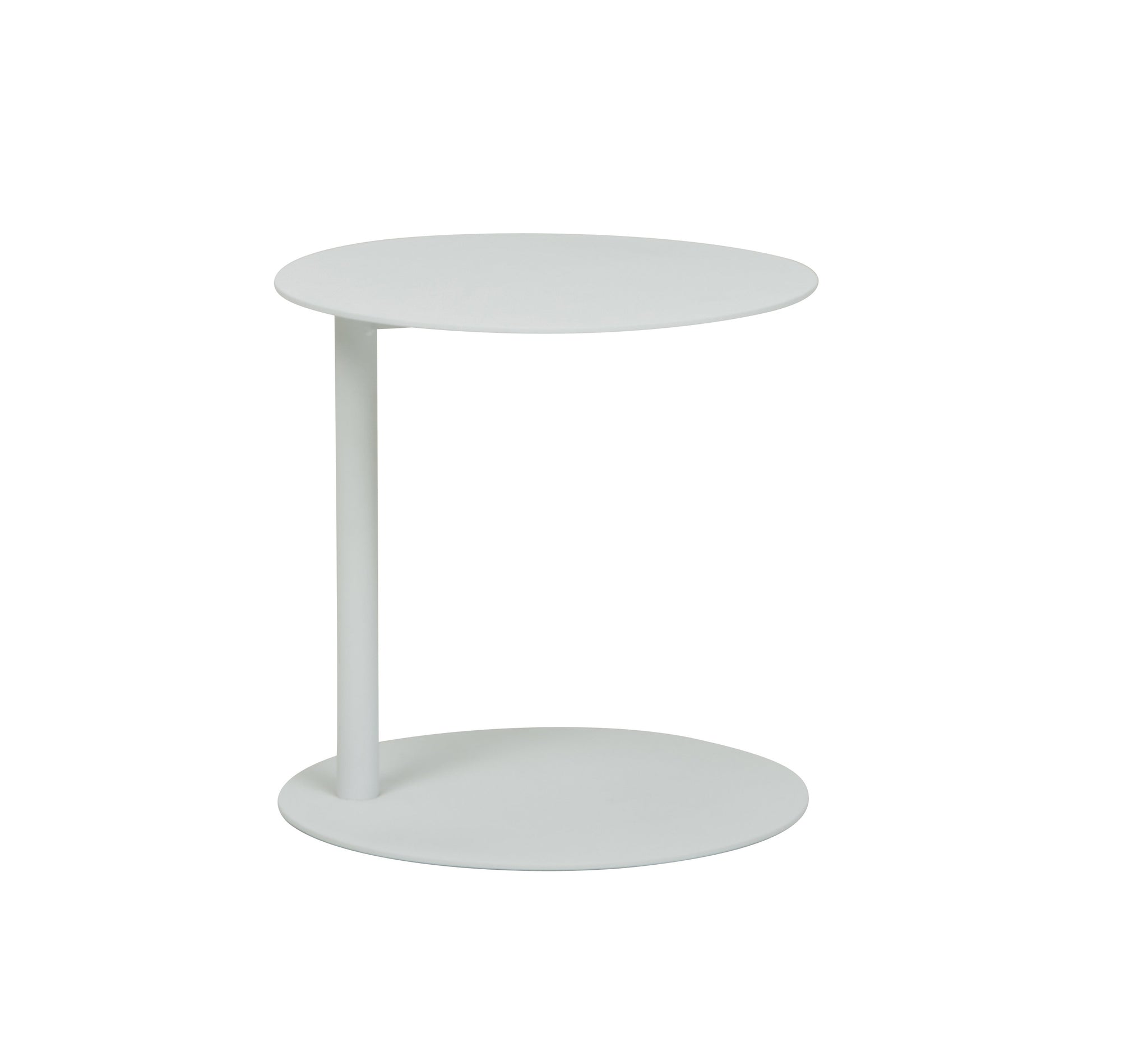 Aperto Side Table Low White