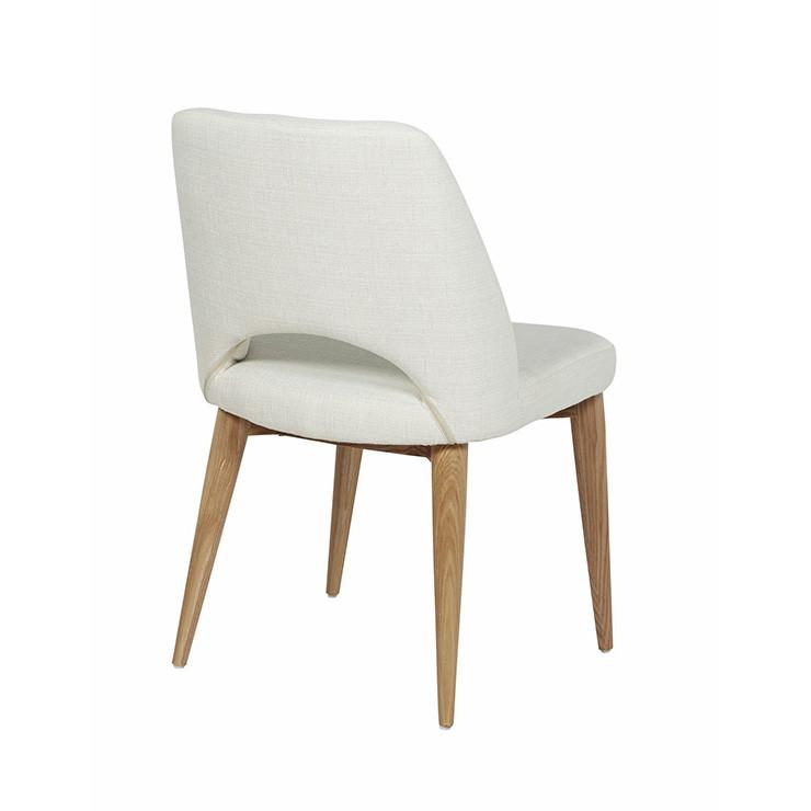 Oscar Timber leg chair