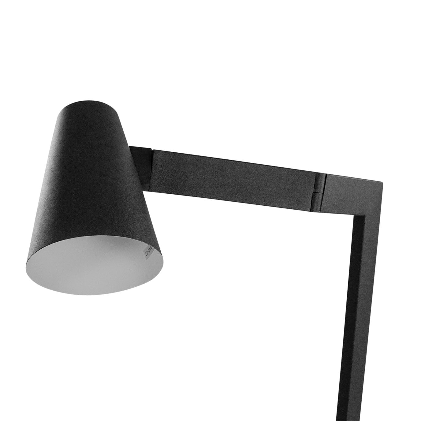 Tilt Floor Lamp Black