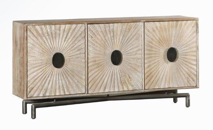 Ellen 3 Drawer Sideboard White