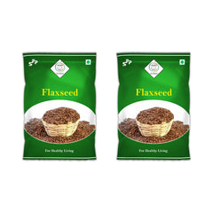 Swasth Natural Flaxseed (Other Names of Flaxseed - Agase, Jawas or Alashi, Ali Vidai, Tishi or Pesi, Avise Ginzalu)