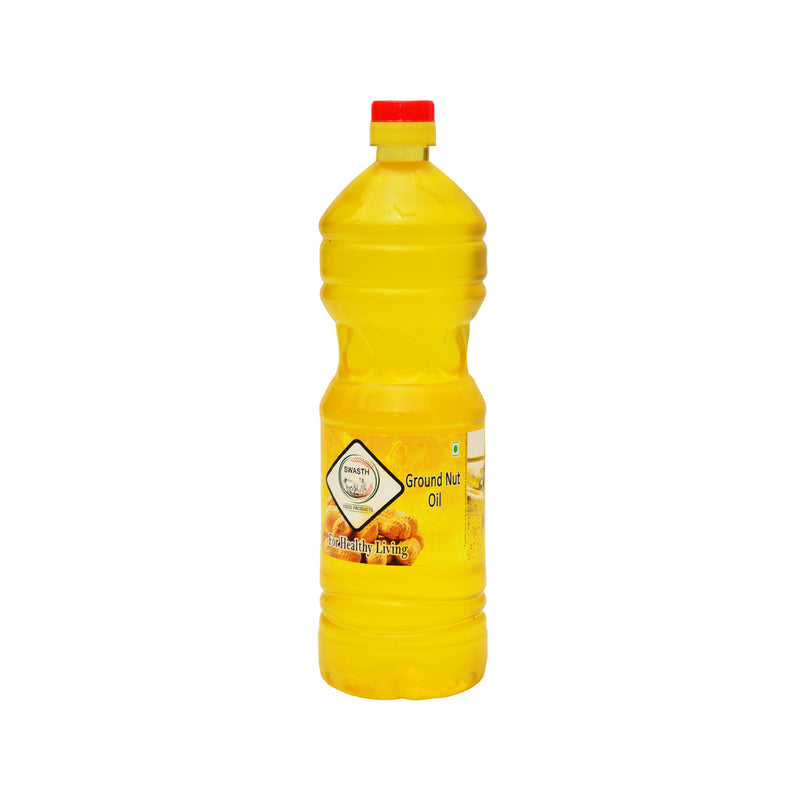 Swasth Coldpressed Groundnut Oil 1 ltr