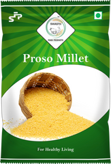 Swasth Unpolished and Natural Proso Millet (Other Names of Porso Millet Chena,Baragu,Variga,Pani Varagu)