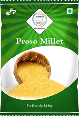 SWASTH Unpolished and Natural Millet Combo Pack of 6 - 1Kg Each (Foxtail, Kodo, Browntop, Little, Barnyard, Proso Millets)