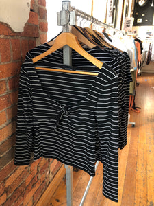 MORGAN STRIPE TOP