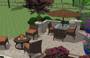 Paver Patio #S-044501-01