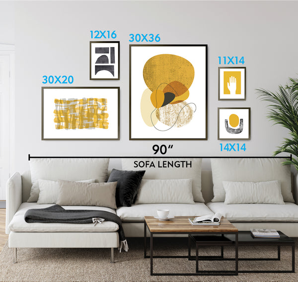 gold instant gallery wall prints