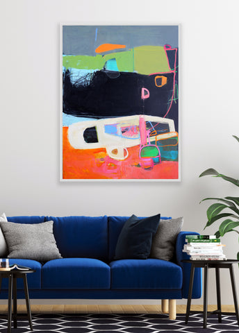 colorful abstract contemporary art