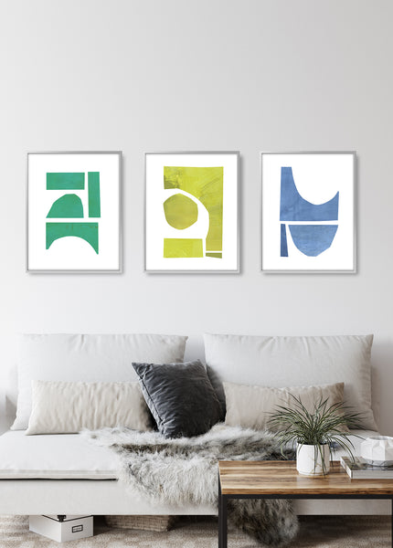 living room wall decor print set of 3