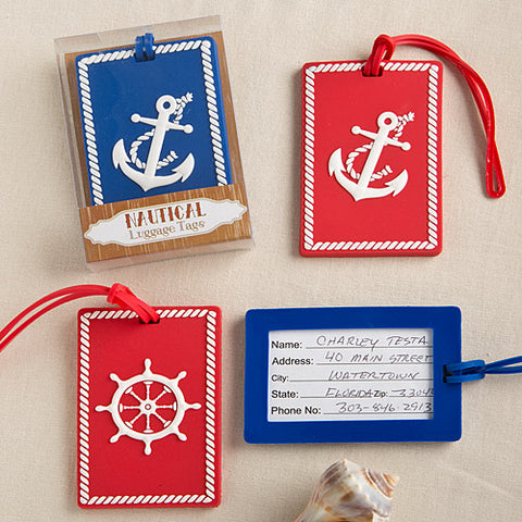 Nautical Luggage Tags