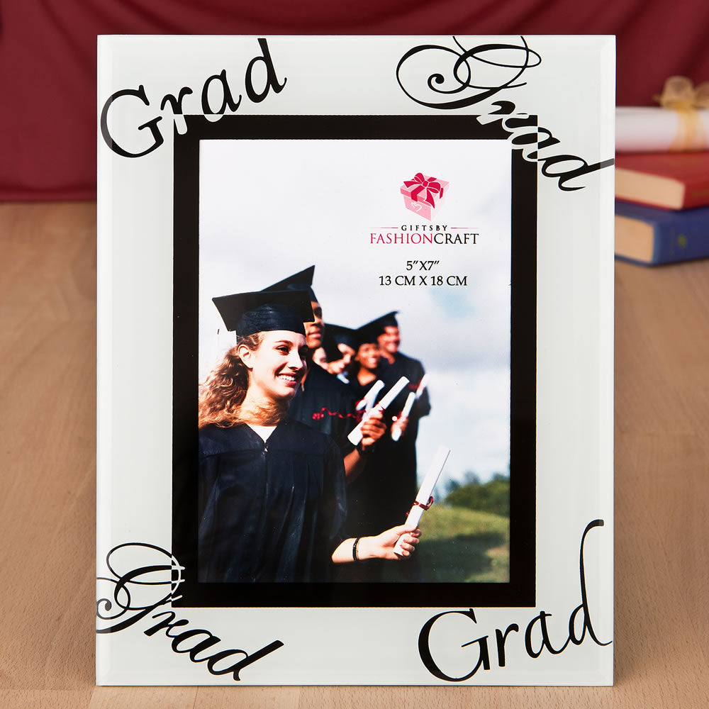 Fabulous 5 x 7 Graduation Glass Picture Frame From Favorrific