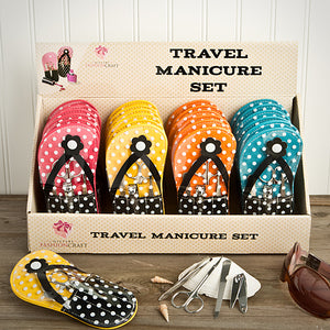 Flip Flop Design Manicure Sets