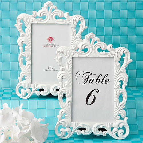 Baroque Design Picture Frame / Table Number Holder