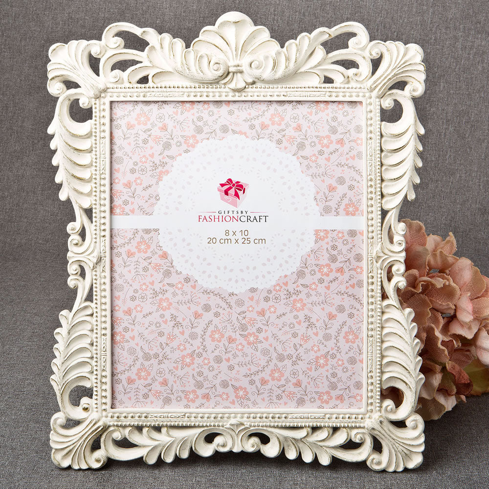 Brushed Gold Baroque Ivory Picture Frame