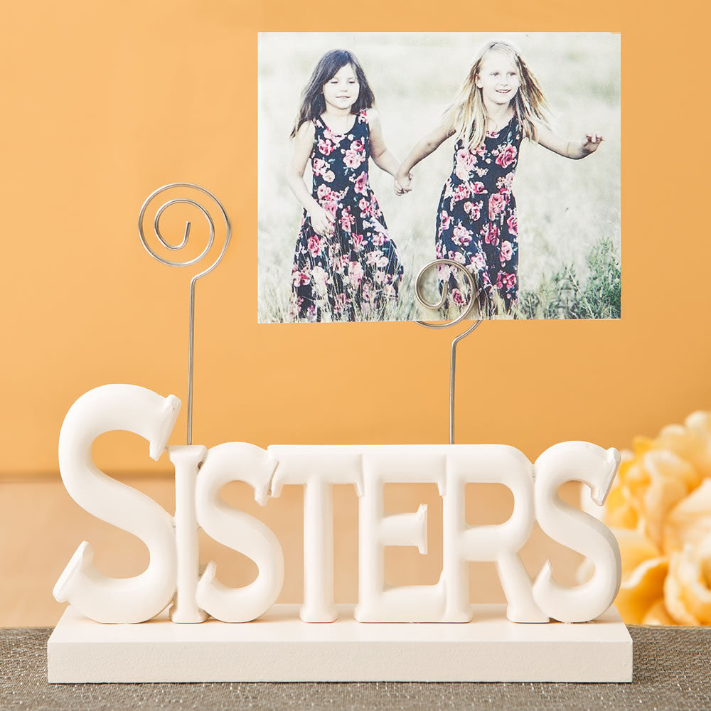 Lovely Rose White Sisters Photo Holder From Gifts By Favorrific