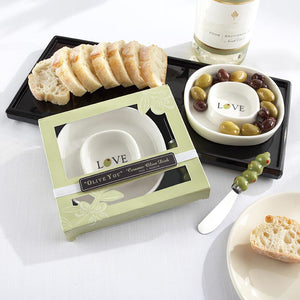 """Olive You"" Olive Tray & Spreader"
