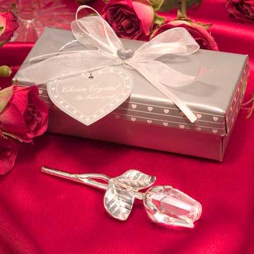 Choice Crystal Long Stem Rose