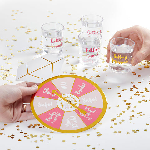 Sip & Spin Bachelorette Party Game