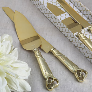 Two Piece Cake Knife Set