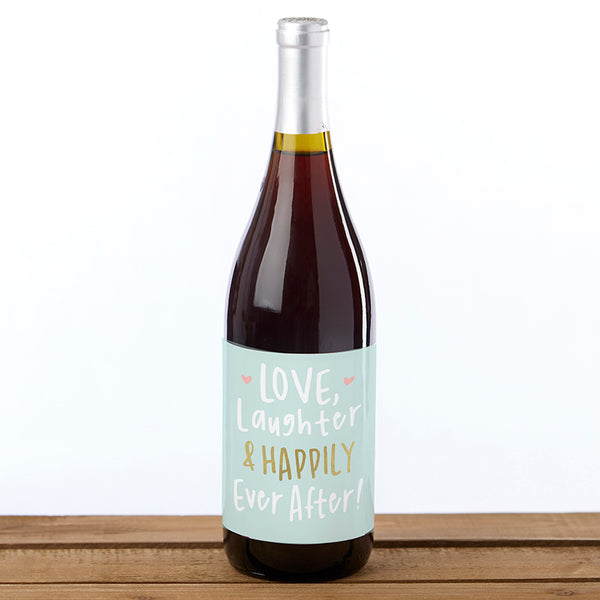 Bridal Shower Wine Bottle Label (Set of 6)