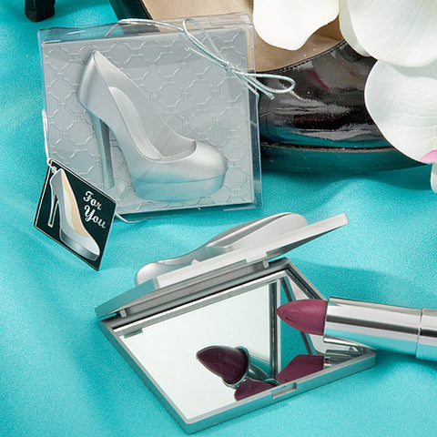 High Heel Shoe Design Mirror Compact