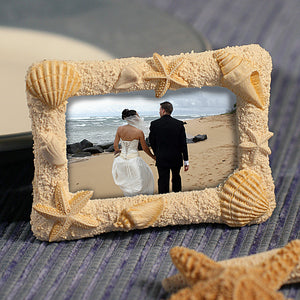 Seashell Beach-Themed Photo Frame