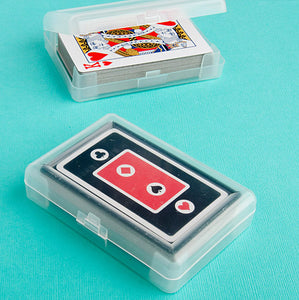 Perfectly Plain Playing Cards