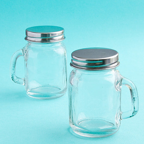 Plain Glass Mason Jars
