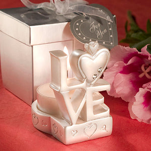Love Design Candle Holder