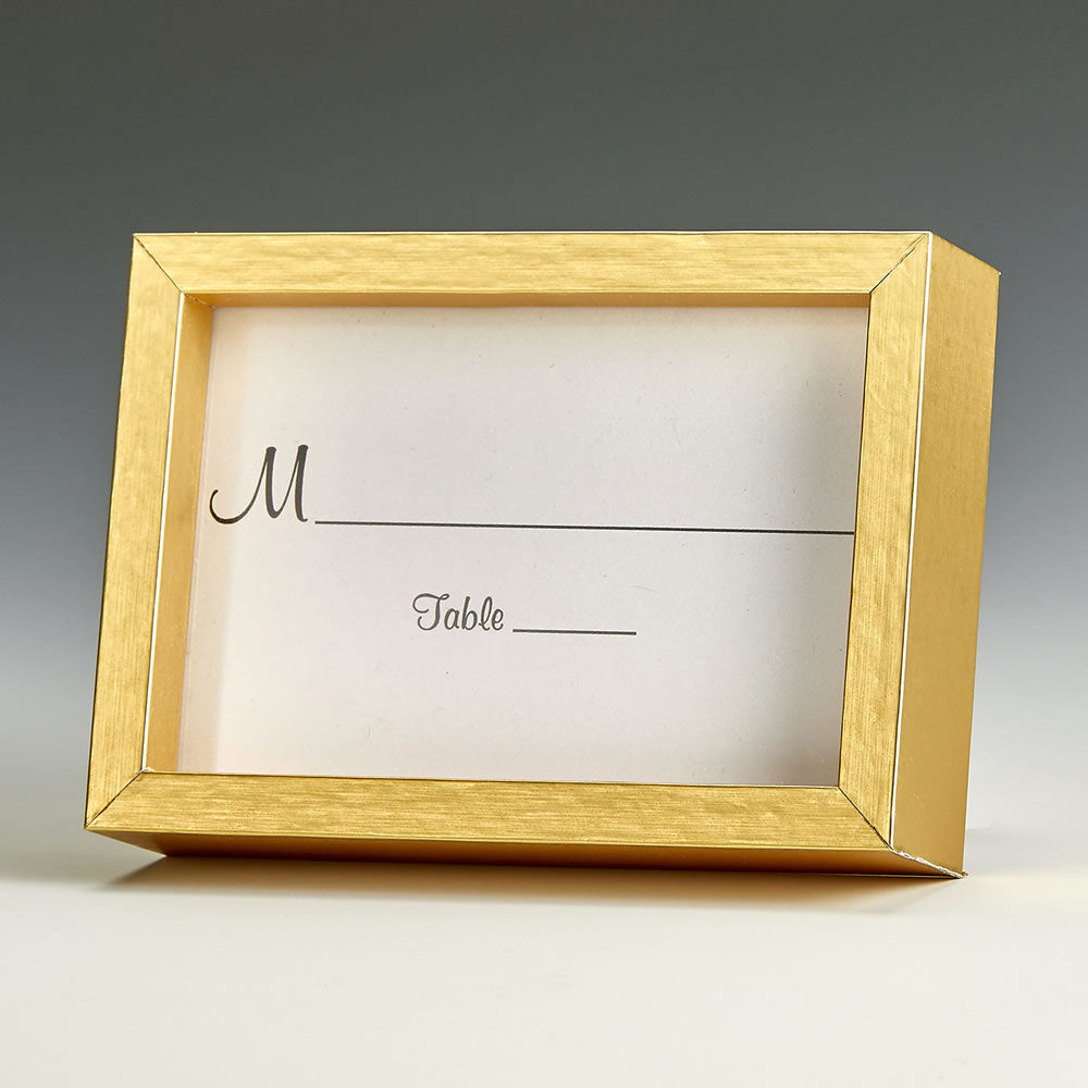 Gold Wood 2x3 Picture Frame