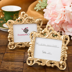 Gold Baroque Style Frame Favor From Favorrific