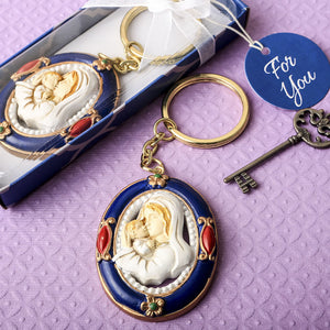 Madonna & Child Key Chain