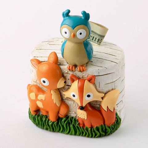 Woodland Animals Bank