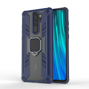 Bakeey Armor Shockproof Ring Holder Hard PC Protective Case For Xiaomi Redmi Note 8 Pro